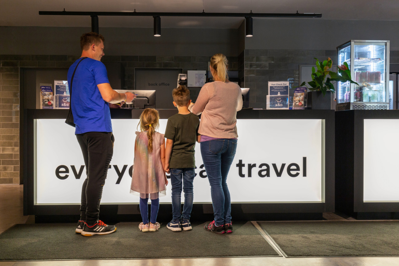 a&o Hostels auto check-in